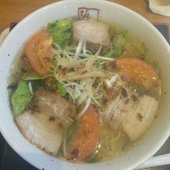 Tokyo Ikebukuro Ikebukuro In My Mouf Foodporn Food Porn ラーメン Enjoy A Meal 喜多方ラーメン坂内(ºωº)青唐うま塩ラーメン