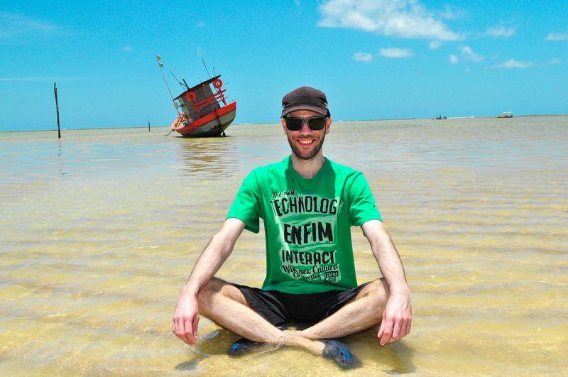 That's Me Brazilian Beard Guy Enjoying Life Smile :) São Miguel Dos Milagres - AL Life Is A Beach Nordeste Brasileiro Faces Of Summer Boat Faces Of EyeEm