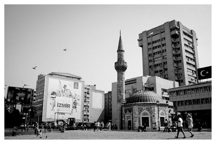 Konak Mosque Blackandwhite Black & White Travel Photography Architecture Cityscapes Mosque at Konak Camii , Izmir in Turkey