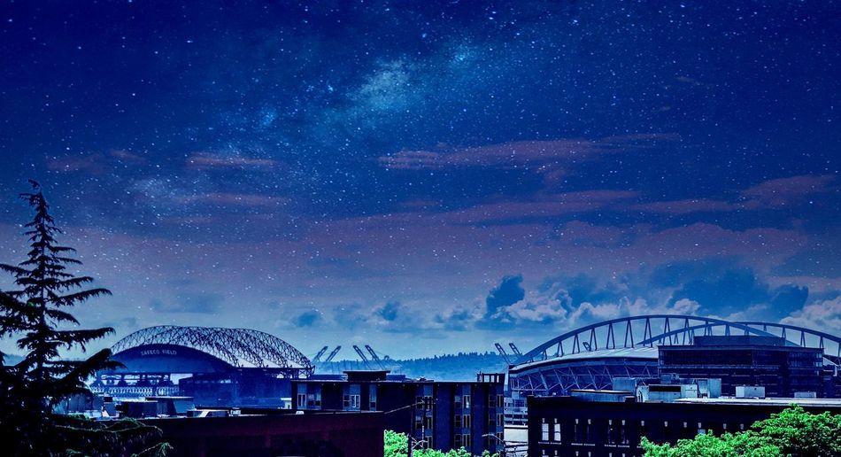 Starry Seattle