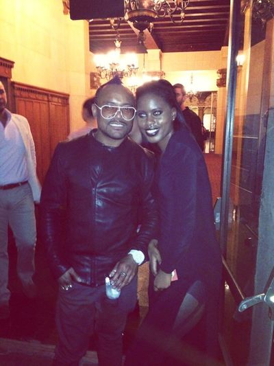 With apple from the black eye peas at the Lifestyle Network Event