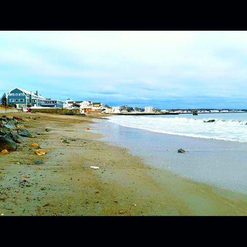 Beach Photography Living The DreamBlue Skys Rockey Shores Low Tide Welcomes Rocks Seashells And What The Tide Has Washed Up On The Shore Line A Simple Pleasure In A Fast Life, (be The First To Put Your Footprint In The Perfectly Placed Sand Before The Tide Tskes I/ Away Cold Waters Of The Atlantic. Open Edit The Week On EyeEm