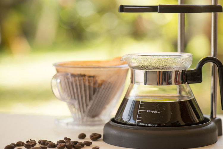 Coffee dip Aroma Coffee Bean Coffee Dip Coffee Grounds Coffee Time ☕ Filter Paper Grinder Hot Water Refreshment