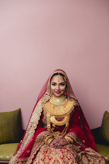 Shahida Jahan - II Beauty Bride Celebration Cultures Jewelry One Woman Only One Young Woman Only People Portrait Sari Sitting Smiling Traditional Clothing Wedding Wedding Ceremony Young Women Uniqueness Glamour Second Acts Fashion Stories This Is My Skin The Fashion Photographer - 2018 EyeEm Awards The Portraitist - 2018 EyeEm Awards A New Beginning