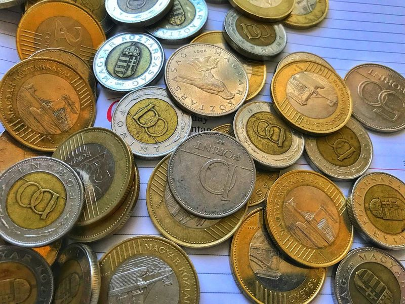 Money on calendar Hdr Photography Iphone7photography Calendar Money Diary Forint Huf Coin Finance Currency Wealth Savings Metal Gold Colored No People Large Group Of Objects