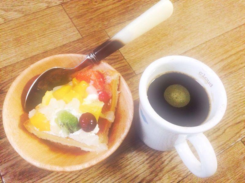 Coffee Cup Sweet Food ケーキ
