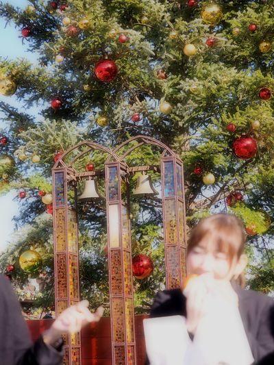 クリスマスツリーより……(*゚▽゚*)ウマー Christmas Tree Merry Christmas! Happy Cristmas Snapshot Enjoying Life People Watching