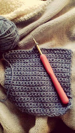 Crocheting Crocheting Is My Hobby Finding Treasures Enjoying Life Crochet Hooks And Yarn Yarn Blue