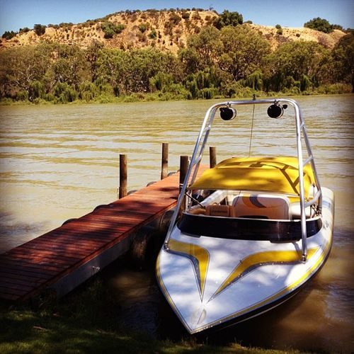 Bowhill Southaustralia Bowhill Rivermurray Speedboat