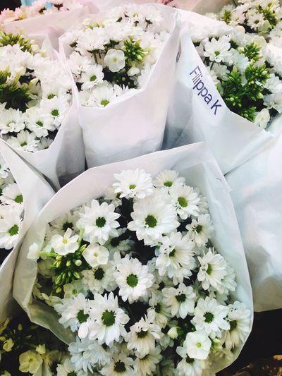 Genius idea to give away flowers as goodies. Elle Magazine Elledeutschland  Filippak