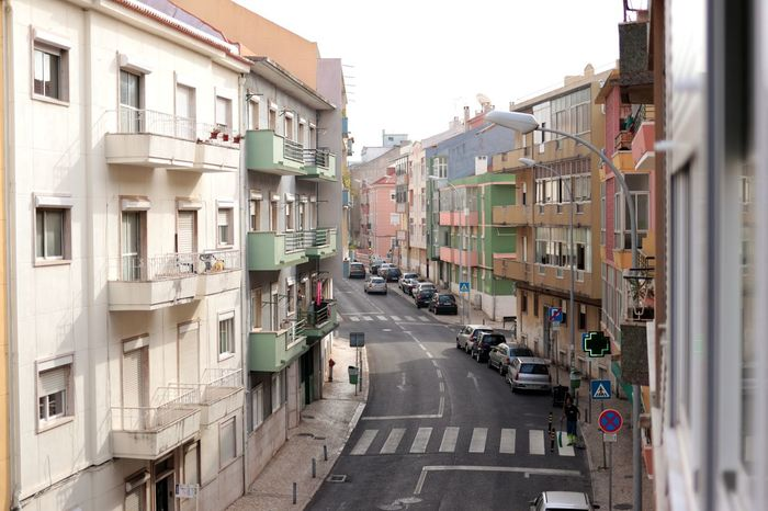 Rua em Amadora, Portugal City Street Architecture Residential Building Day Outdoors No People Edificios Ruas Rua Building Exterior Built Structure City Life Cityscape