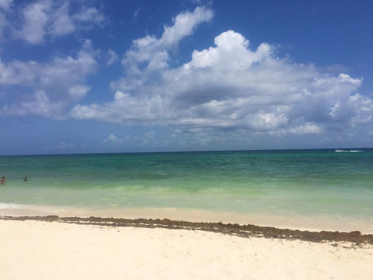 Playa del Carmen Sea Beach Beauty In Nature Tranquil Scene No People Vacations