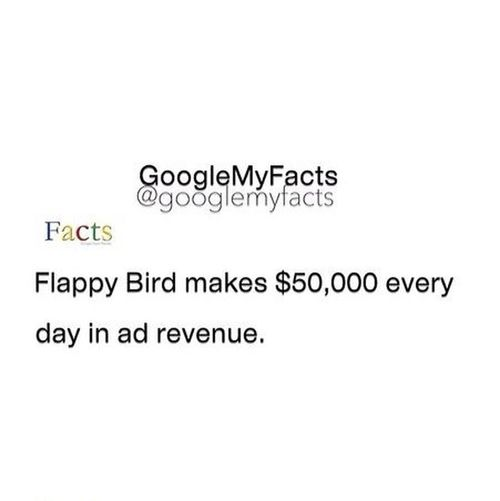 Like if you play flappy bird! And what is your high score?? Comment below! :) Flappy Bird Game IPhoneFact