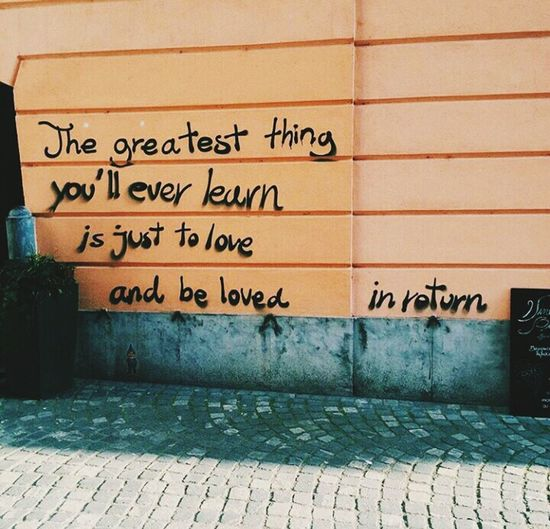 Written on the walls Wordstoliveby Love Moulin Rouge
