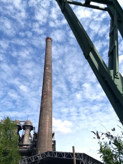 Landschaftspark Duisburg-nord Chimney Industrial Tree City Industry Sky Architecture