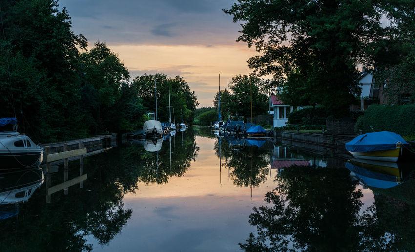 Boat Cloud Nature Sky Standing Water Steinhude-am-meer.de - Dein Meer-Foto Steinhuder Meer Sunset Sunset #sun #clouds #skylovers #sky #nature #beautifulinnature #naturalbeauty #photography #landscape Tree Water