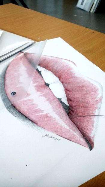 ArtWork Leedesignes Animation Animationclass Enjoying Life Hello World Lips Redlips Red Getting Inspired #love