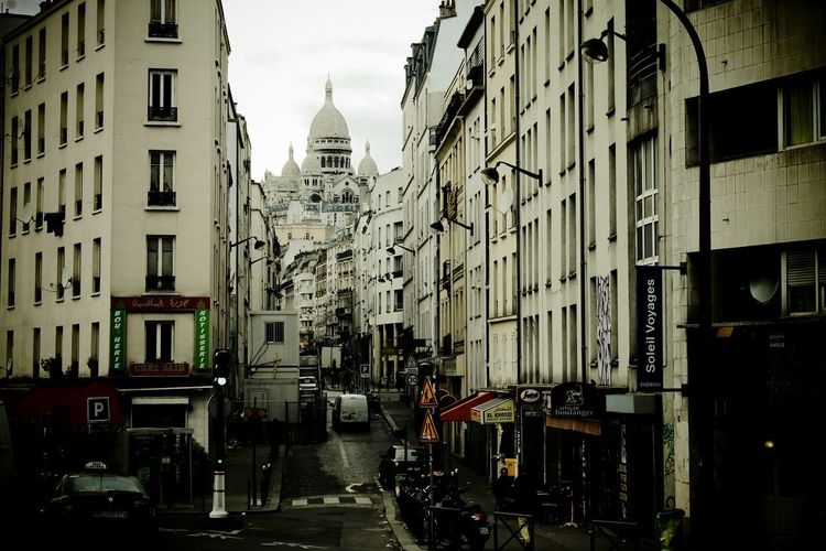 Paris, France  Sacré Coeur, Paris Architecture Building Exterior Built Structure City Cityscape Day No People Outdoors Sky Streetphotography