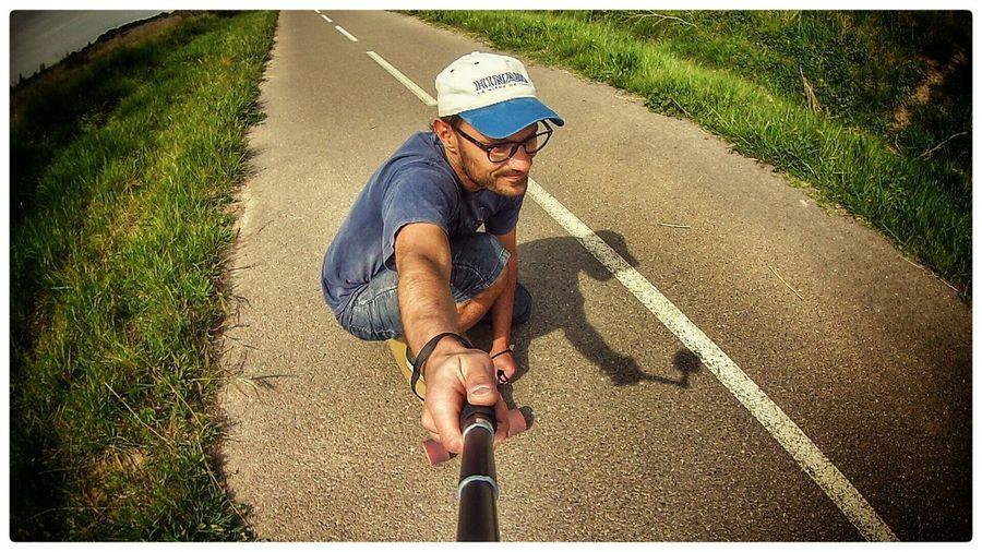 Cruising Longboarding Longboard Enjoying Life That's Me Selfie Selfportrait Longboards