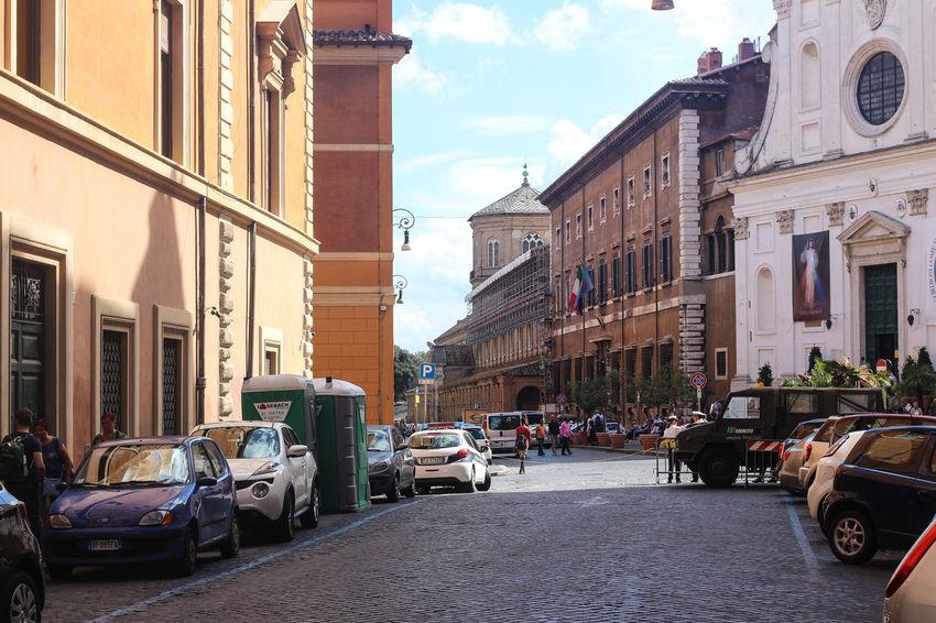 Vatican neighborhood Modern Life Public Security Rome Italy🇮🇹 Street Photography Travel Vatican City