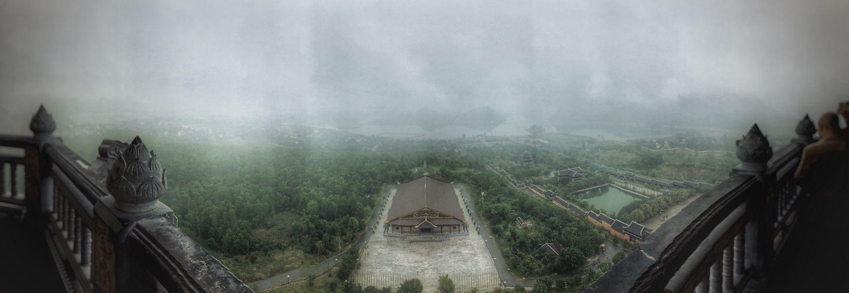 Travel Outdoors Beauty In Nature BaiDinh Pagoda High Sky Viet Nam