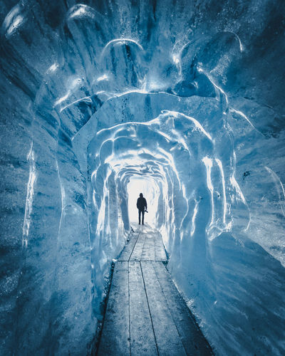 You get a feeling that is incredible when you walk through a glacier! Ice Nature Beauty In Nature Cold Temperature Glacier Nature Outdoors Silhouette Snow Switzerland Travel Destinations Winter Perspectives On Nature EyeEmNewHere Fresh On Market 2017 Be Brave