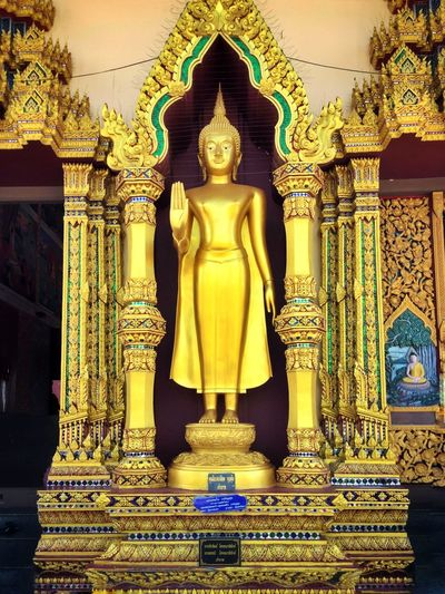 One of the many Buddha statues located all over the island of Samui Asian Culture Buddha Ko Samui Thai Buddha Thailand Architecture Belief Building Building Exterior Gold Gold Colored Ornate Place Of Worship Religion Sculpture Spirituality Statue Temple Thai Culture EyeEmNewHere
