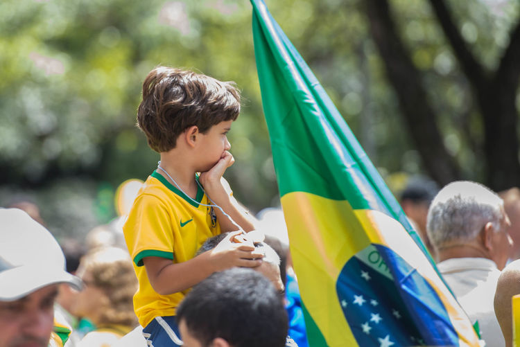 Protests against corruption in Brazil Belo Horizonte Brasil Dilma Impeachment Manifestação Protestos