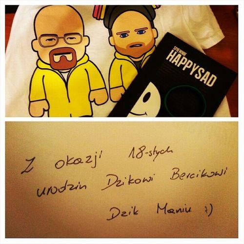 Najlepszy Prezent Maniu Brat dziki urodziny 18 happysad koszulka breaking bad heisenberg jesse pinkman blue_meth summer