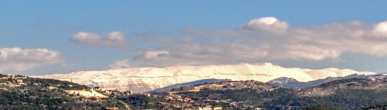 The Summit (قرنة السوداء) Of Lebanon God's Ceders A View From My Village Ghalboun Beauty In Nature Nature No People Scenics Outdoors Sky Landscape Mountain Day