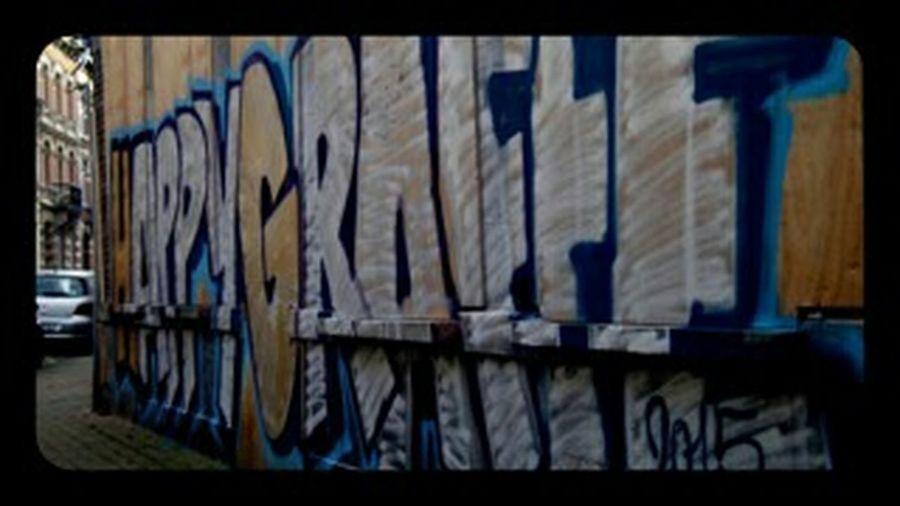 Notes From The Underground Vandalism Happynewyear2015 Her&Das