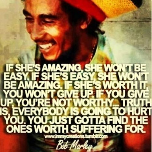 Wise man.... Quotes Bob Marley