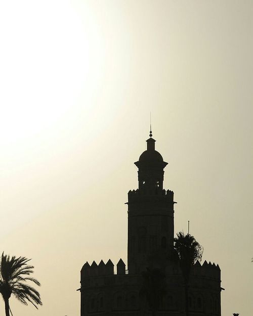 Architecture Silhouette Tower History Architectural Feature Historic Spain ✈️🇪🇸 Andalusia Tourism Sevilla Architecture Seville,spain Downtown Seville Golds Tower Torre del Oro