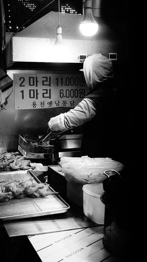 Working Labour Labourer Traditionalmarket Nightmarket South Korea Blackandwhite Black And White Black & White Candid Candid Photography