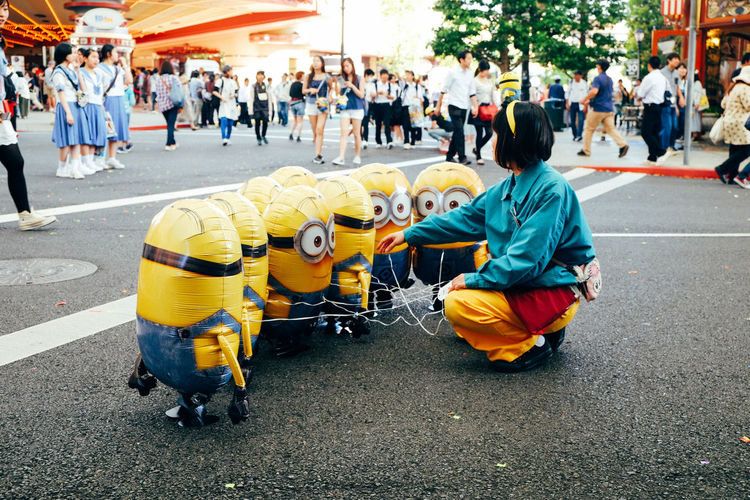 Gang meeting Minions Traveling Taking Photos OSAKA Japan Fujifilm_xseries FUJIFILM X-T1 Fujifilm Showcase May Vscocam The Street Photographer - 2016 EyeEm Awards Snapshots Of Life Ultimate Japan