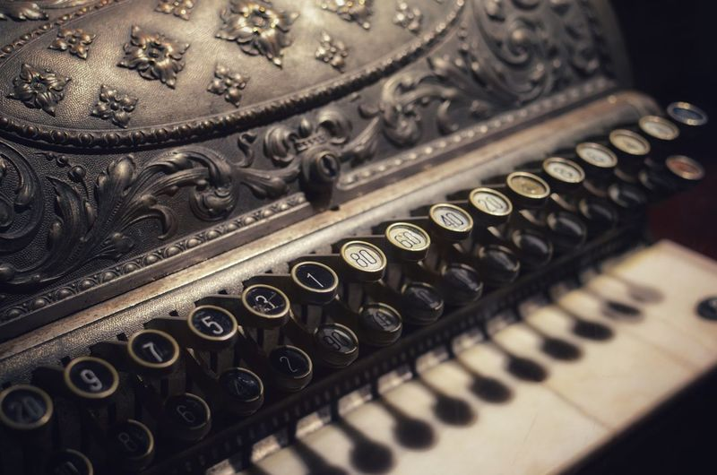enigma Steampunk Typewriter Cash Register Technology Old-fashioned Antique Retro Styled Business Finance And Industry Close-up Civilization Historic History The Past Ancient Run-down Deterioration The Still Life Photographer - 2018 EyeEm Awards