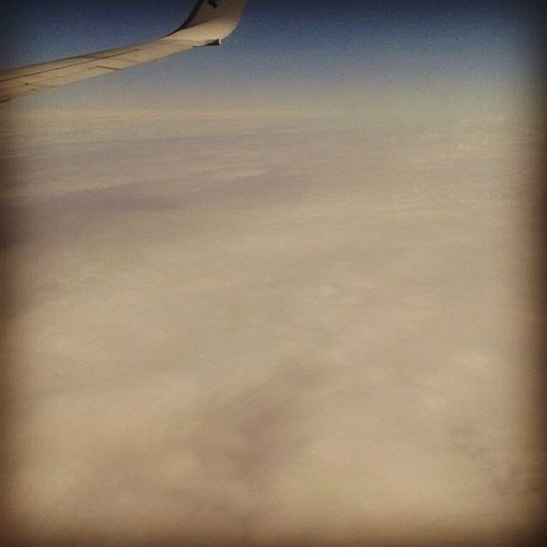 Hello England. Intheclouds Greyskies Cominghome