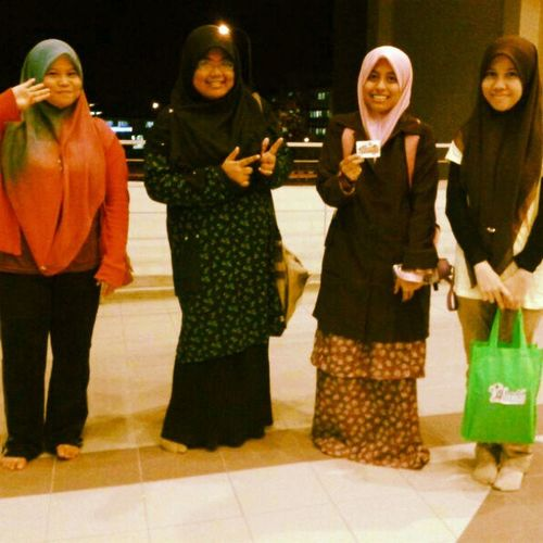 ^_^ Street Dakwah last Tuesday with Kak Ina, Jihan and @maziahramlee Love Addin Letsdoingdakwah UitmPerak