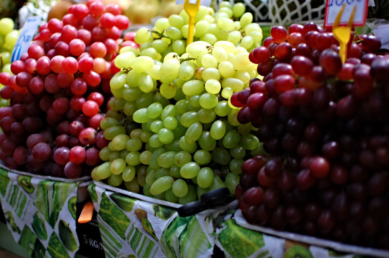 Grapes Light And Shadow Sampa Market Fruit Grape Food And Drink Healthy Eating Agriculture Green Color Freshness Food Outdoors Red No People Day Healthy Lifestyle Close-up Nature City Food Stories