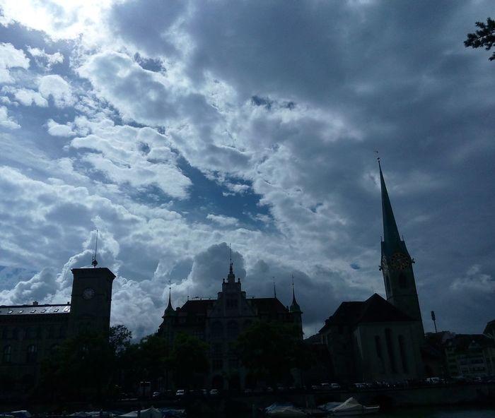 #buildings #clouds  #Nature  #Skyline #skz #Switzerland #traveling #zurich #zurich Architecture Outdoors Travel Destinations First Eyeem Photo