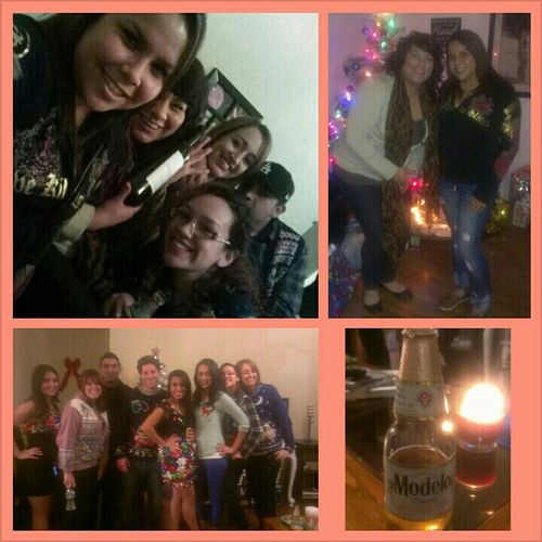 Xmas party on Riverside(:
