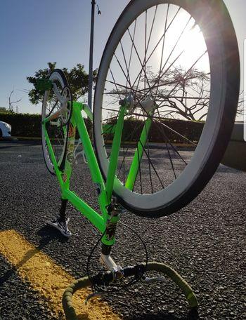 10 Tire Spoke Bicycle Wheel Bicycle Rack Parking