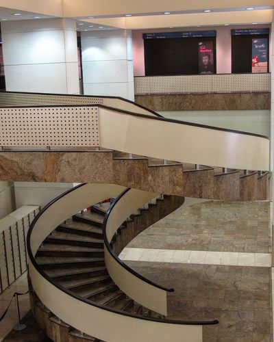 Staircase Steps And Staircases Railing Steps Architecture Spiral Colour Your Horizn Indoors  Curve No People Hand Rail Day