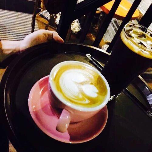Latteart Coffee Enjoying Life Coffee Time Relaxing Having Fun Afternoon Tea