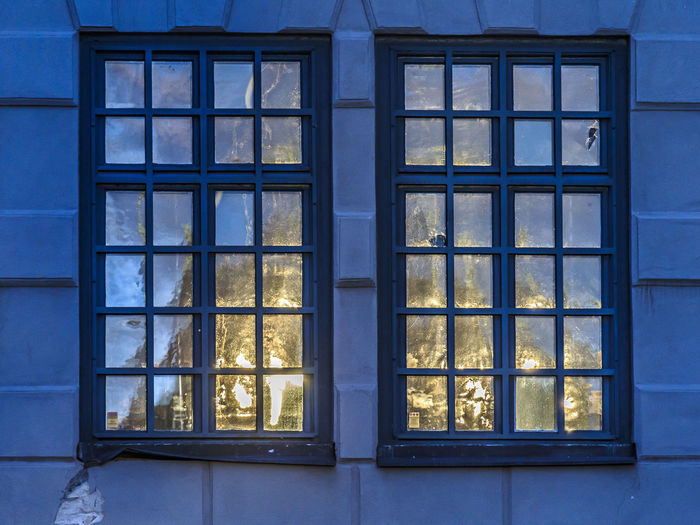 Reflection Stockholm Sweden The Graphic City Architecture Backgrounds Blue Building Exterior Built Structure Close-up Day Full Frame Glass - Material Indoors  No People Window