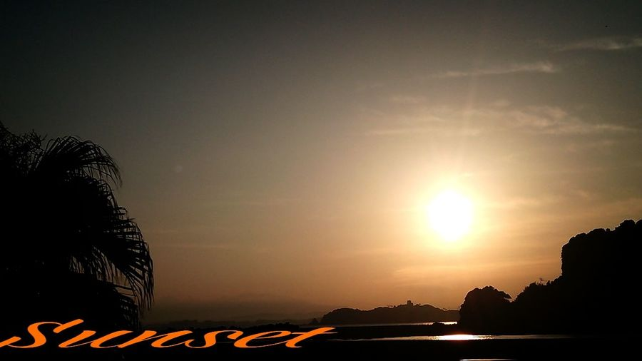 暑いし~(^_^;))) Miyazaki Kushima Sunset Relaxing Healing Yuka  夕凪 Enjoying Life Happy Fresh Air