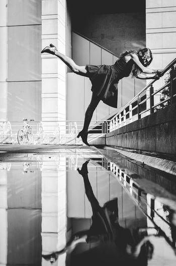Break reality Paris Paris, France  Paris Je T Aime Reflection Reflections Reflection_collection Blackandwhite Light People Photography Photooftheday Photographer Mood Black & White Nikon Nikonphotography Outdoors Shooting