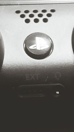 Ps4 close up Indoors  Textured  No People Close-up Bkackandwhite Blackandwhite Photography PS4 Ps4 Controller Gamer Games Sony Sonyimages Playstation 4 Geek Nerd Close Up Technology
