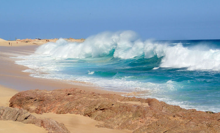 Cabo San Lucas Mexico Power Vacations Beach Beauty In Nature Colorful Dangerous Day Huge Motion Nature No People Outdoors Power In Nature Sand Scenics Sea Surface Level Tourism Travel Destinations Turquoise Water Wave
