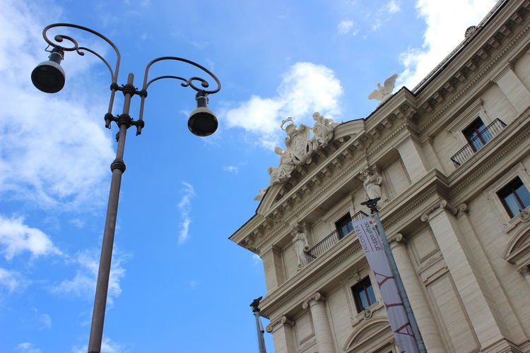 Buildings Cloud Cloud - Sky Day Italia Italy Low Angle View No People Outdoors Roma Sky